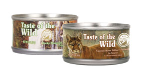 Pâtée Taste of the Wild pour chat